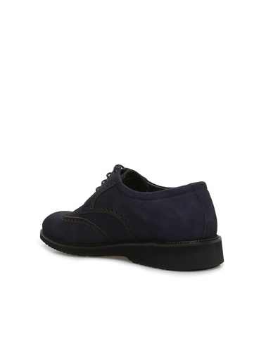 Divarese 5023718 Zımbalı Nubuk Erkek Ayakkabı Lacivert